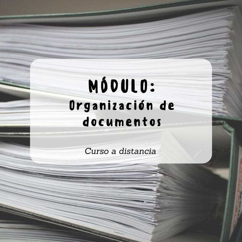 Módulo Organización De Documentos Orden Casa Bambú