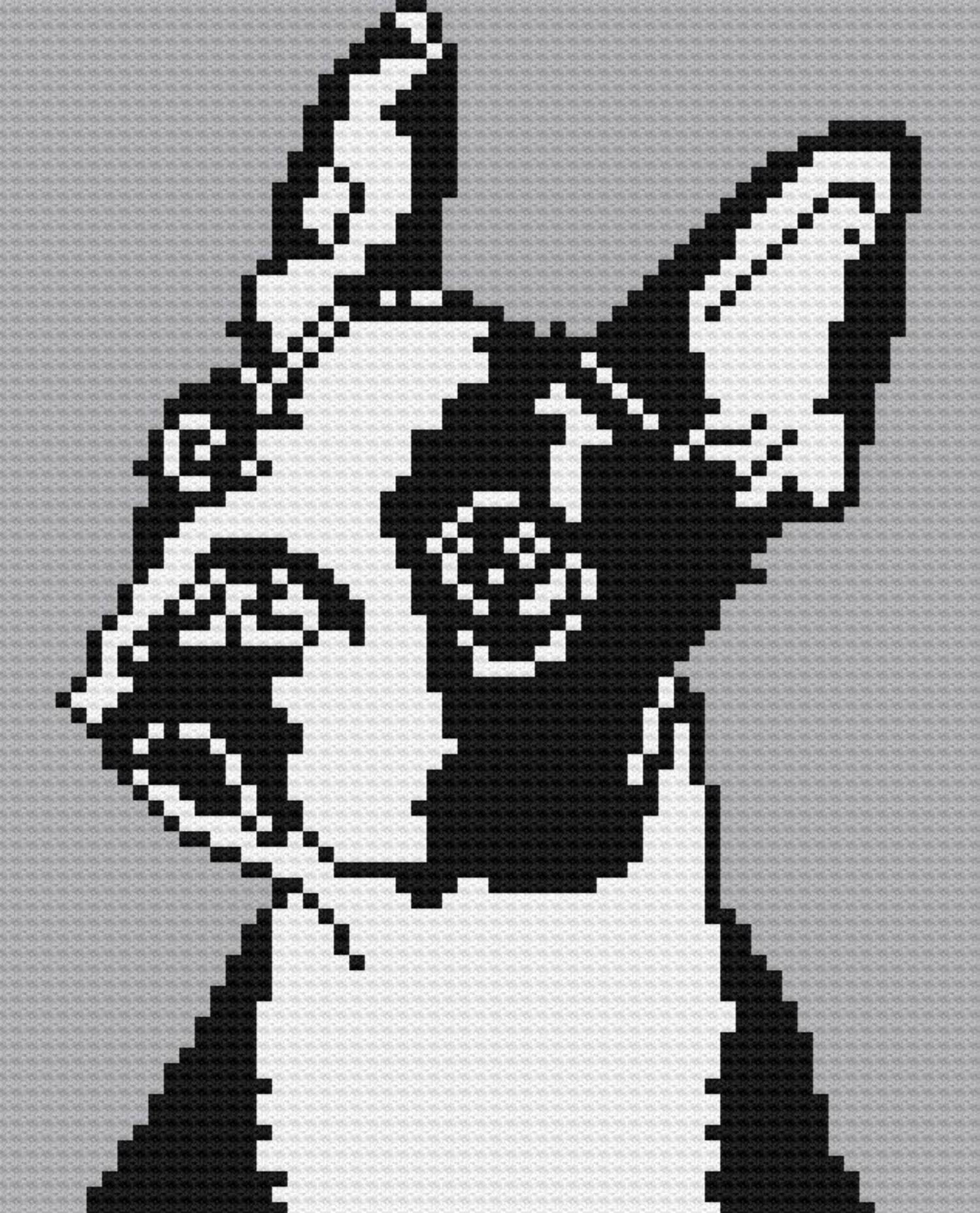 Boston Terrier Pattern | Goldenacresdogs.com | 1238x1000
