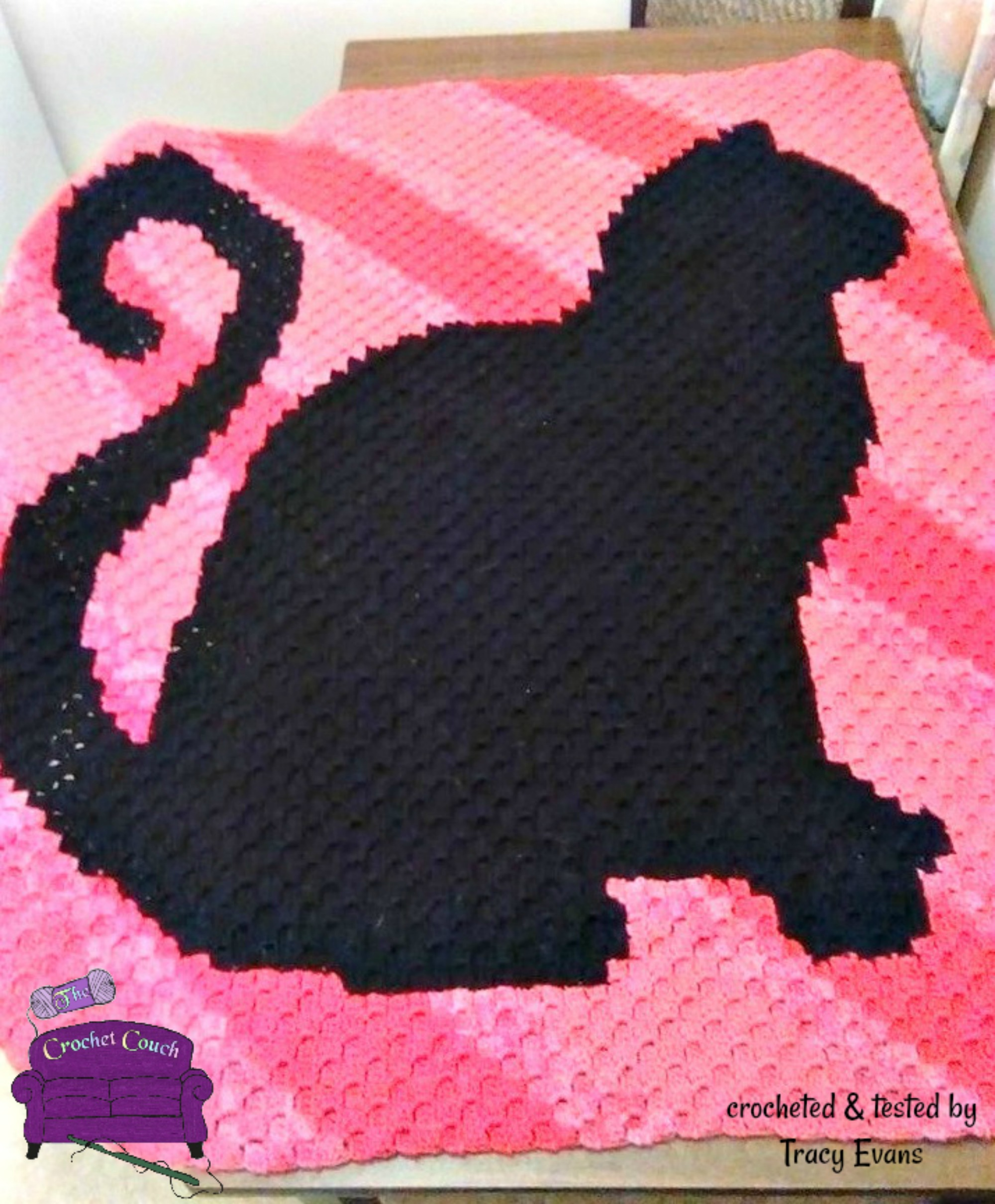 Cat Crochet Pattern.. Ravelry:Abstract Crochet Cats pattern not to ... | 1210x1000