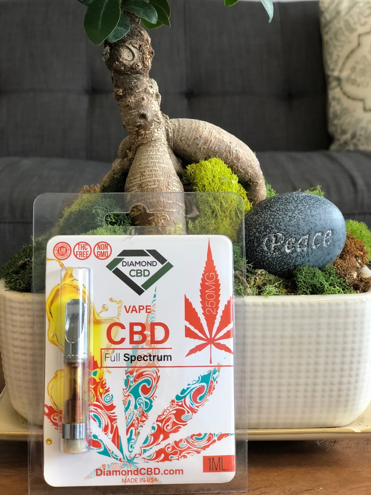Diamond CBD Full Spectrum Cartridge — CBD World