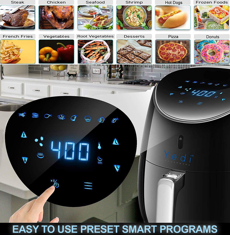 Total Package Air Fryer 5 8QT — Yedi Houseware Appliances