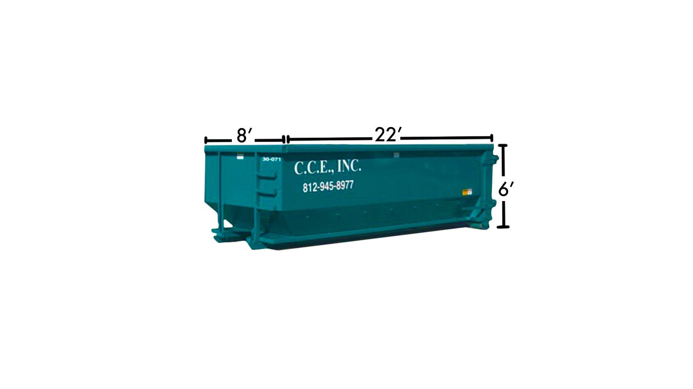 30 Yard Dumpster — C C E  Inc