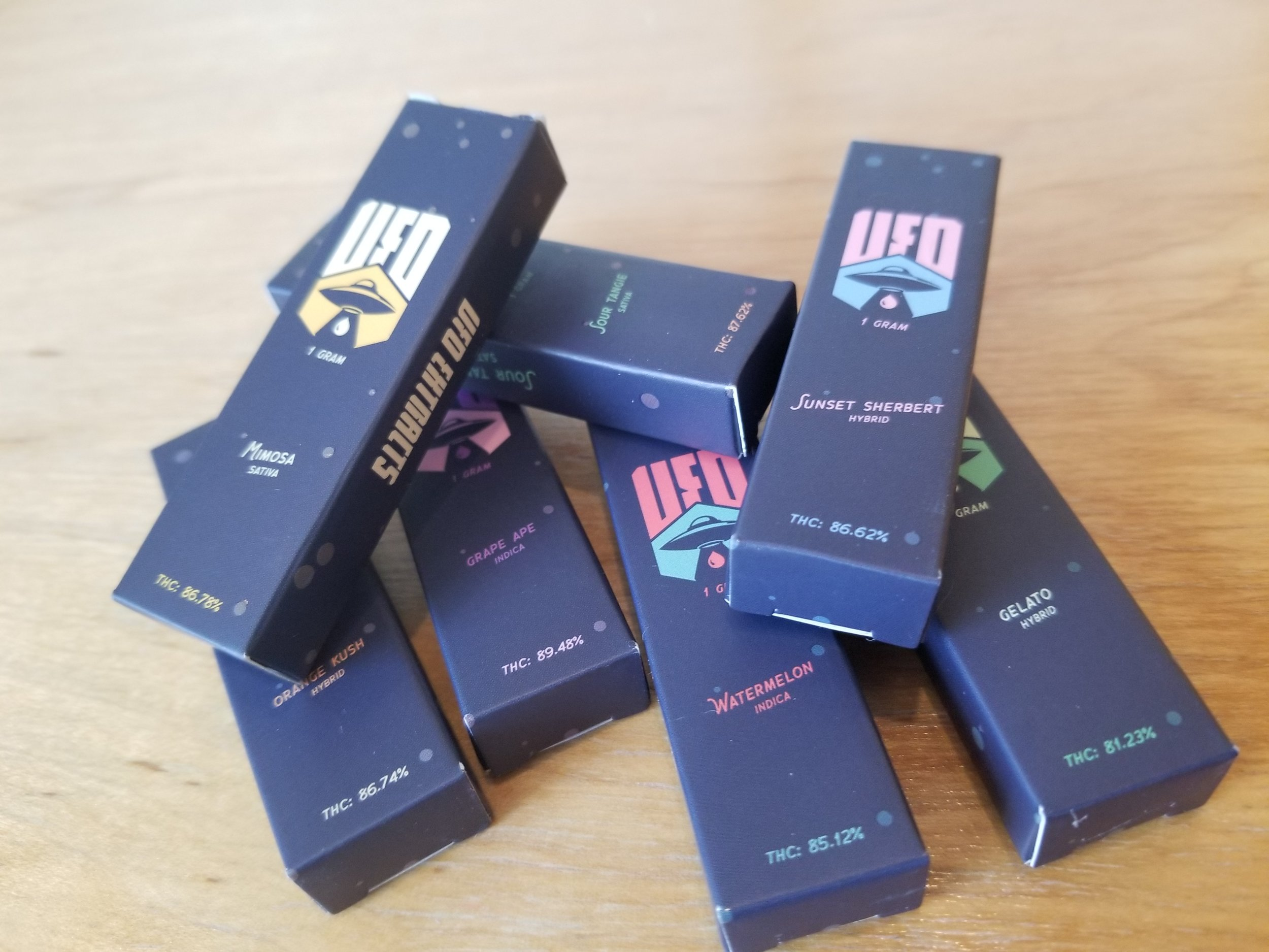 1 Gram UFO Cartridge - $60 00 — Chronic Pharmer Distributors