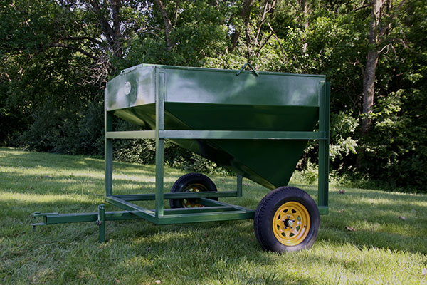 King Ag 1 5-Ton Portable Feed Bin — Co-op TAEP