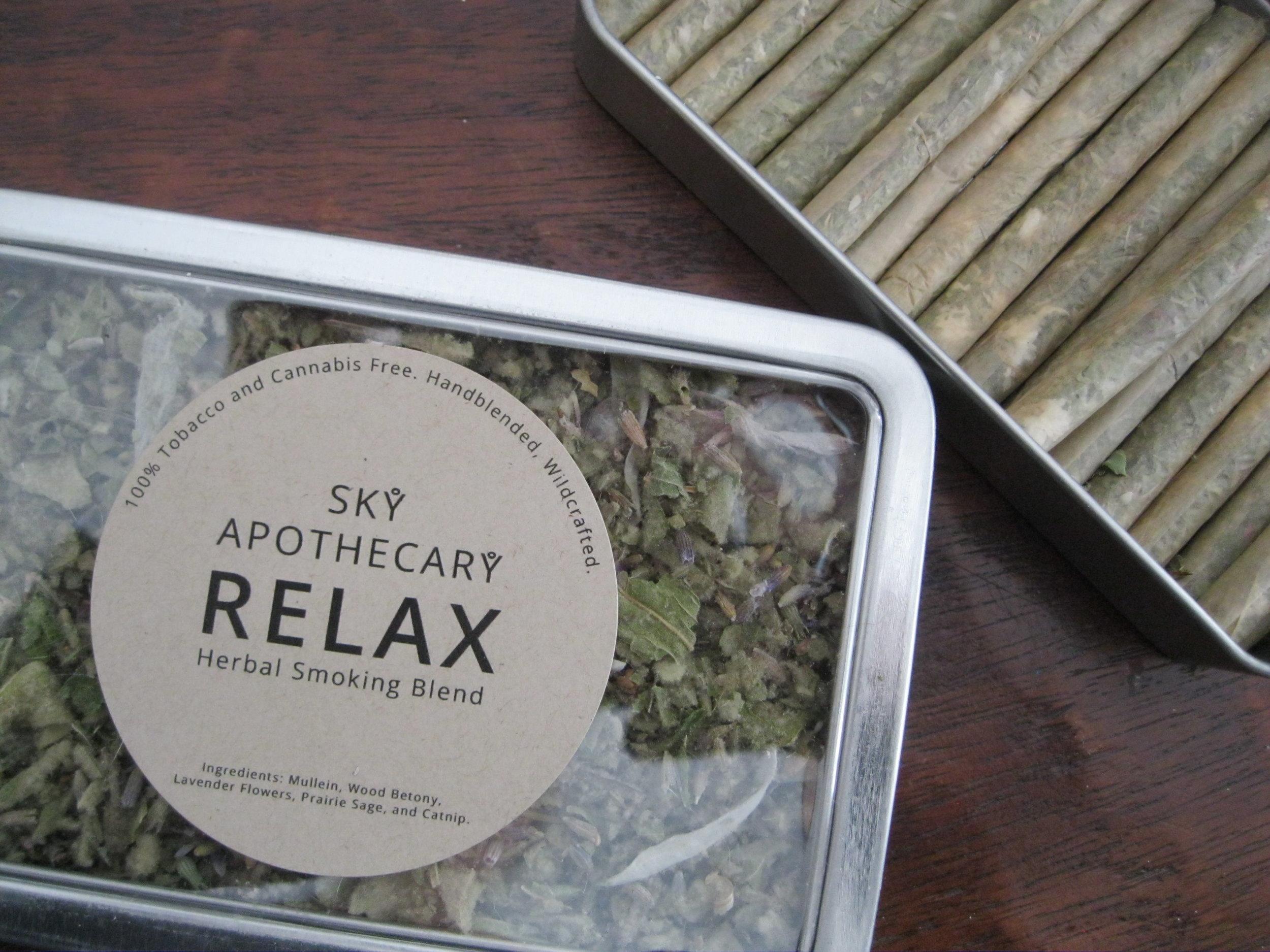 Herbal smoking blends — SKY APOTHECARY