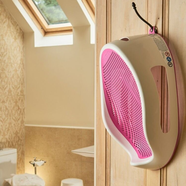 Pink Angelcare Soft Touch Baby Bath Seat