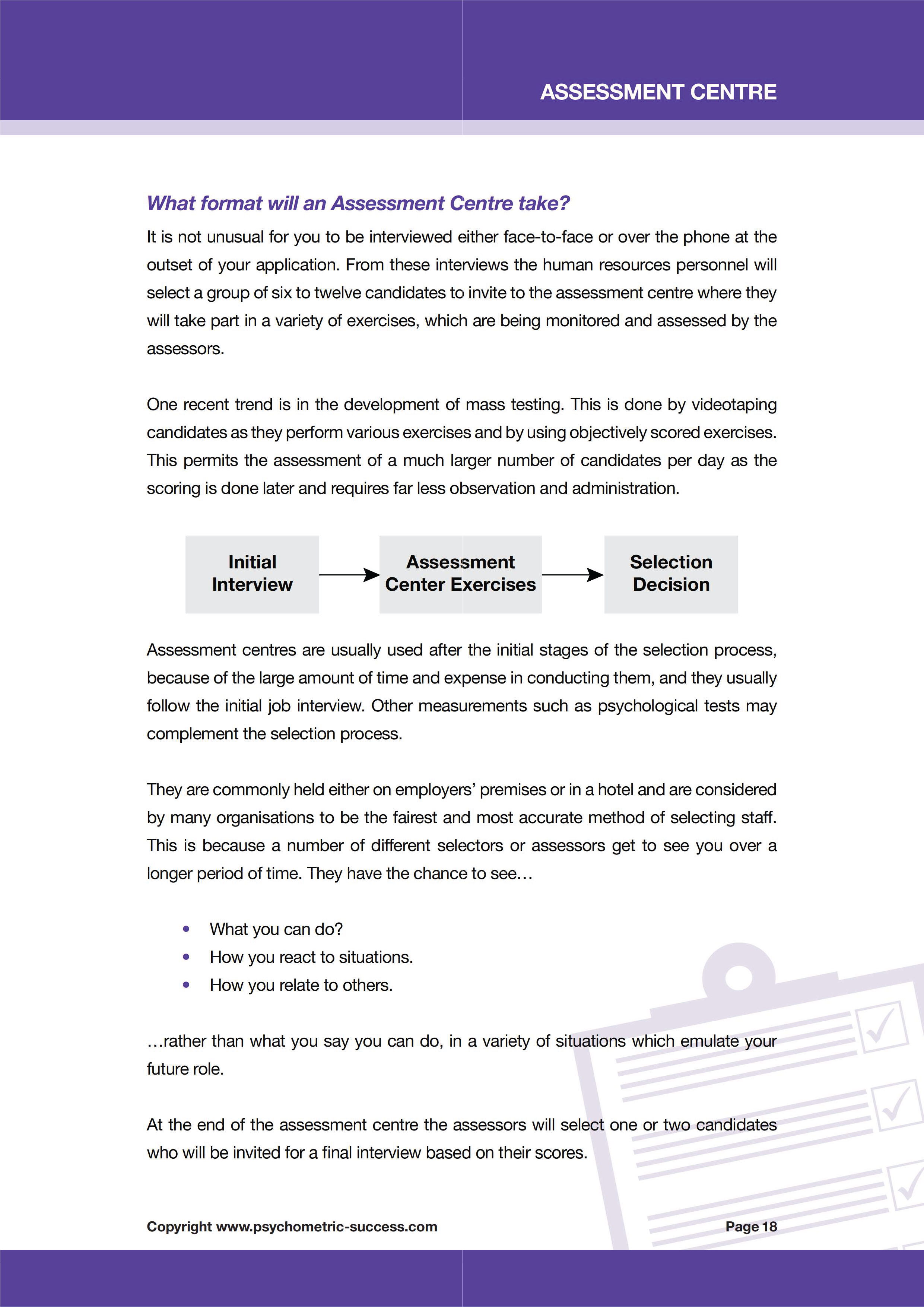 Assessment Centre eBook — Psychometric Tests