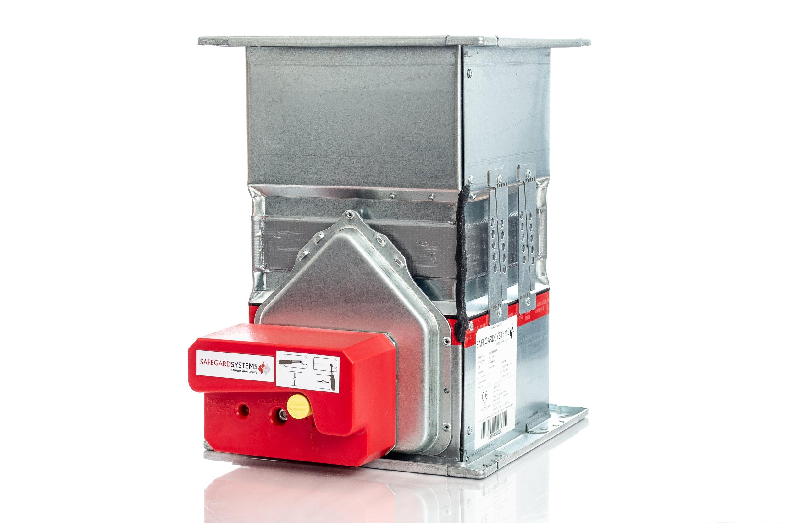 Safegard EIS Manual Fire Damper — Safegard Systems