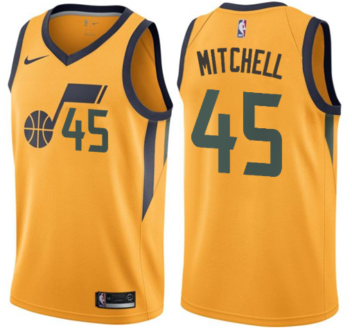 new product 8ecd9 9eced Donovan Mitchell Jazz (All Colors) — Jersey Cave