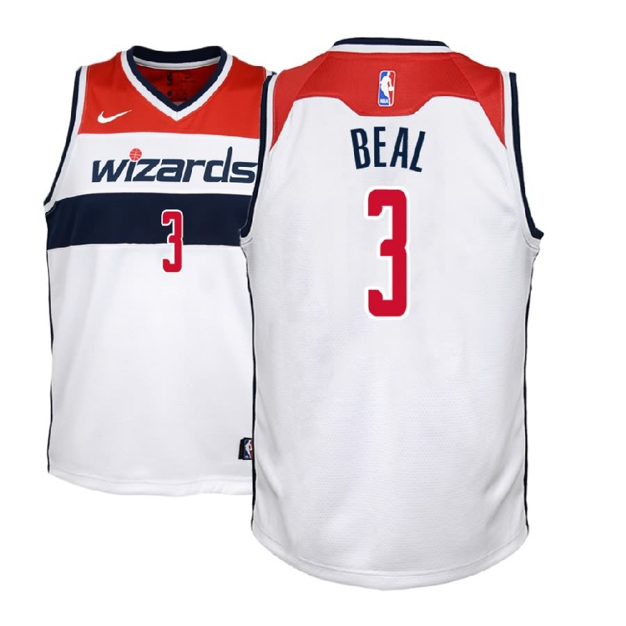 various colors 4b0f6 4ea92 Bradley Beal Wizards (All Colors) — Jersey Cave
