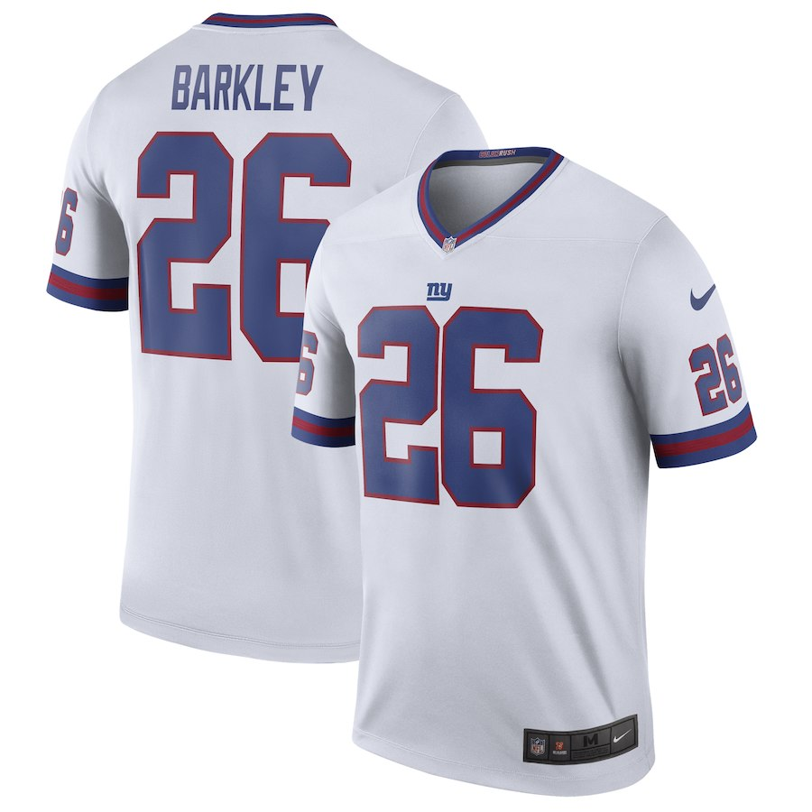 info for 2cc6d 7c7b8 Saquon Barkley Giants (All Colors) — Jersey Cave