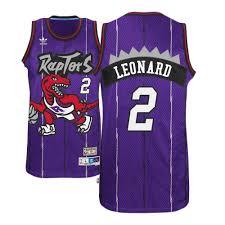 brand new d8101 068f9 Kawhi Leonard Purple Throwback Raptors Jersey — Jersey Cave