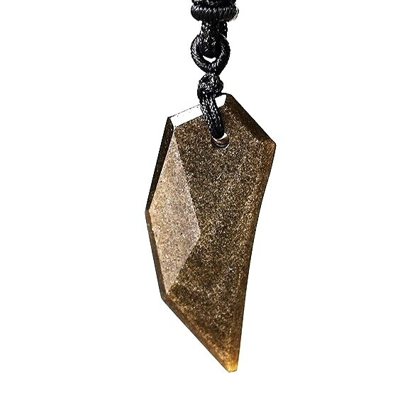 Obsidian necklace