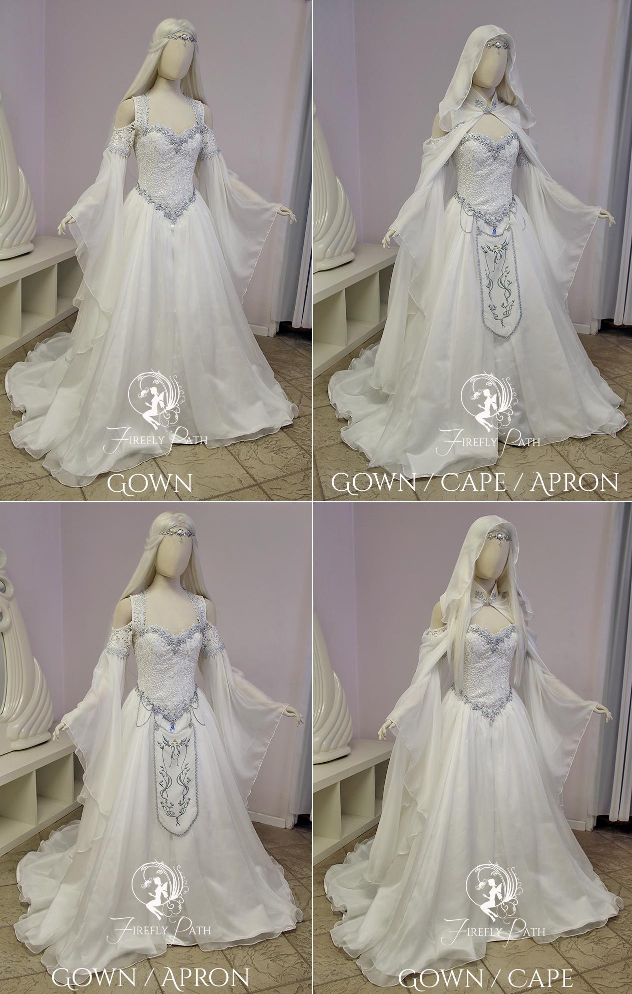 Zelda Wedding Dress.Hyrule Gown Firefly Path