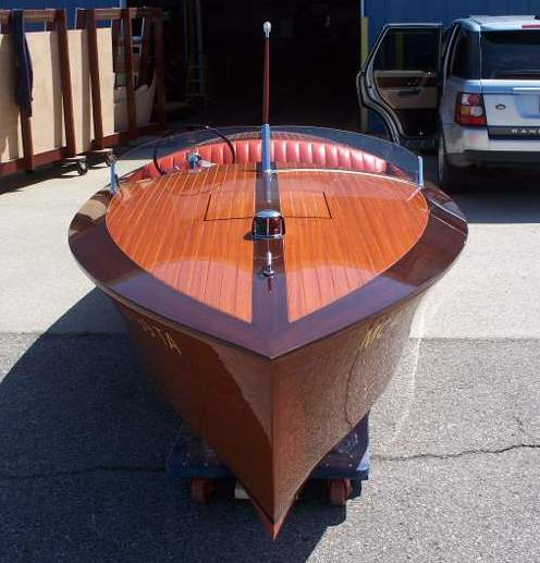 Chris Craft Srb 19 Classic Wooden Boat Plans
