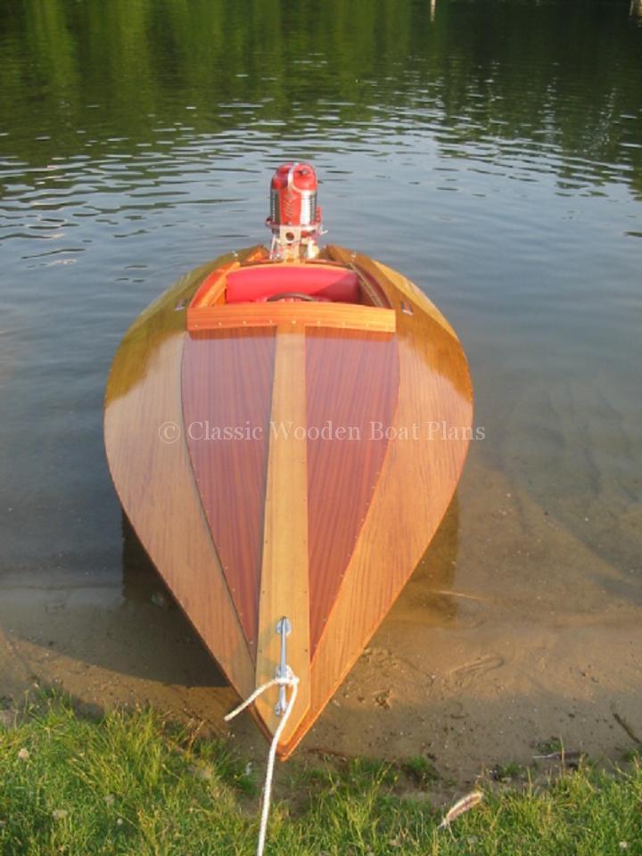 Switzer Craft Bullet 13 Classic Wooden Boat Plans