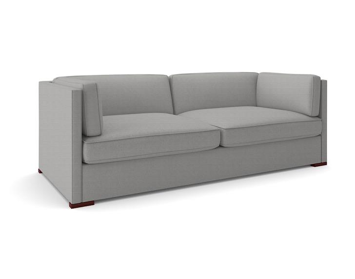 The Tuxedo Sofa Plum