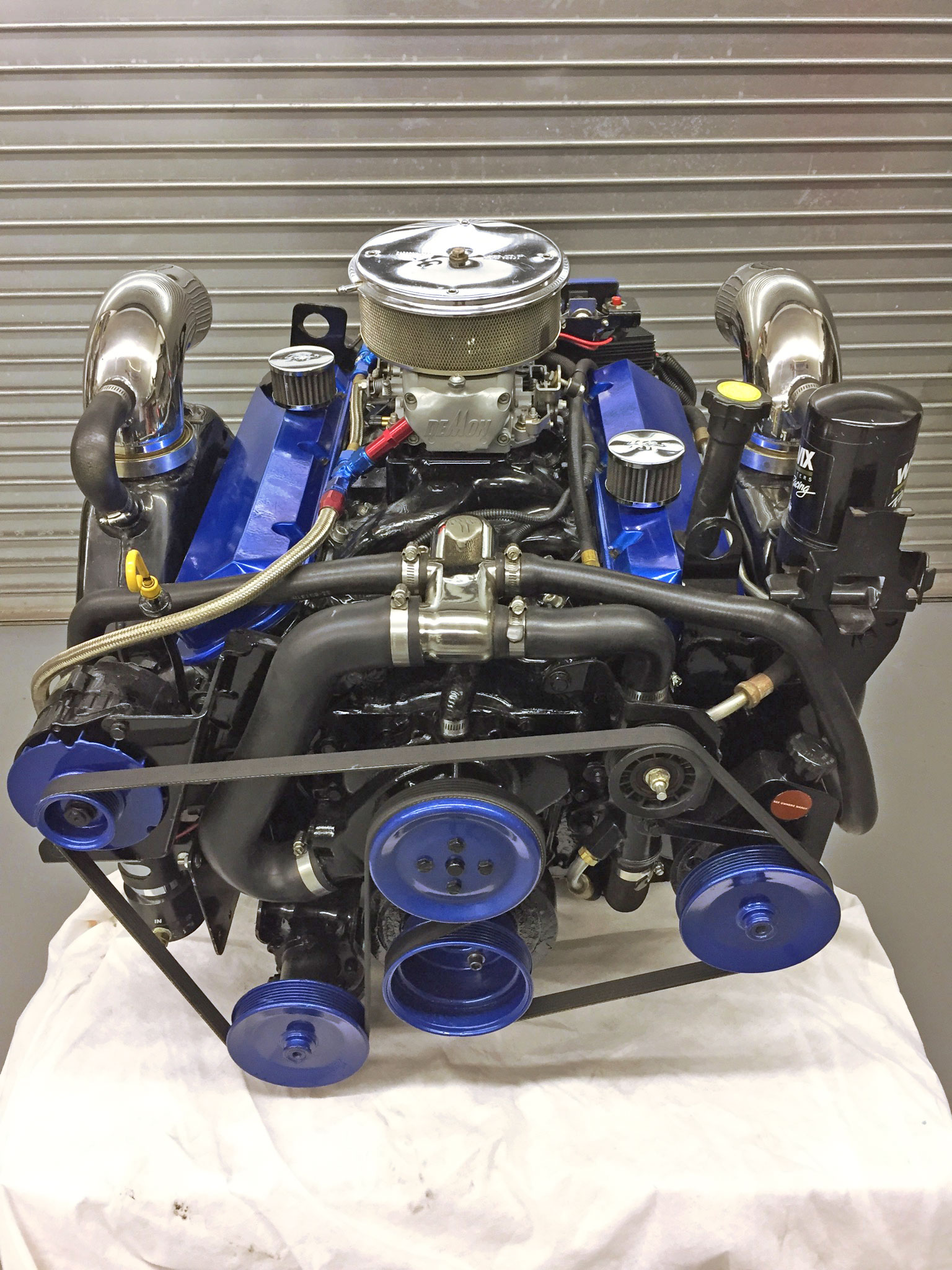 Custom Built 500HP 454 MerCruiser Gen IV — Midcoast Performance Marine