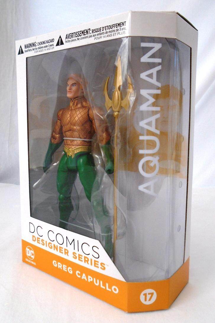 DC Comics Designer Series 17 Aquaman by Greg Capullo Action Figure — Lucky  Target Comics