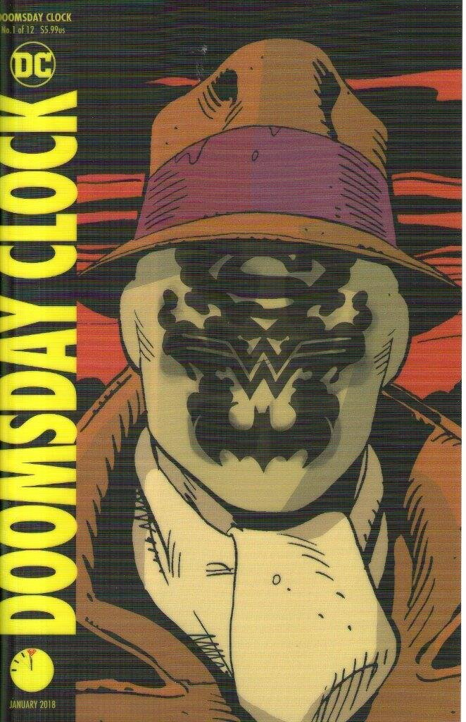 Doomsday Clock 1 Lenticular Variant Cover Lucky Target Comics