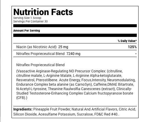 GAT Nitraflex 300gm — Burn Nutrition