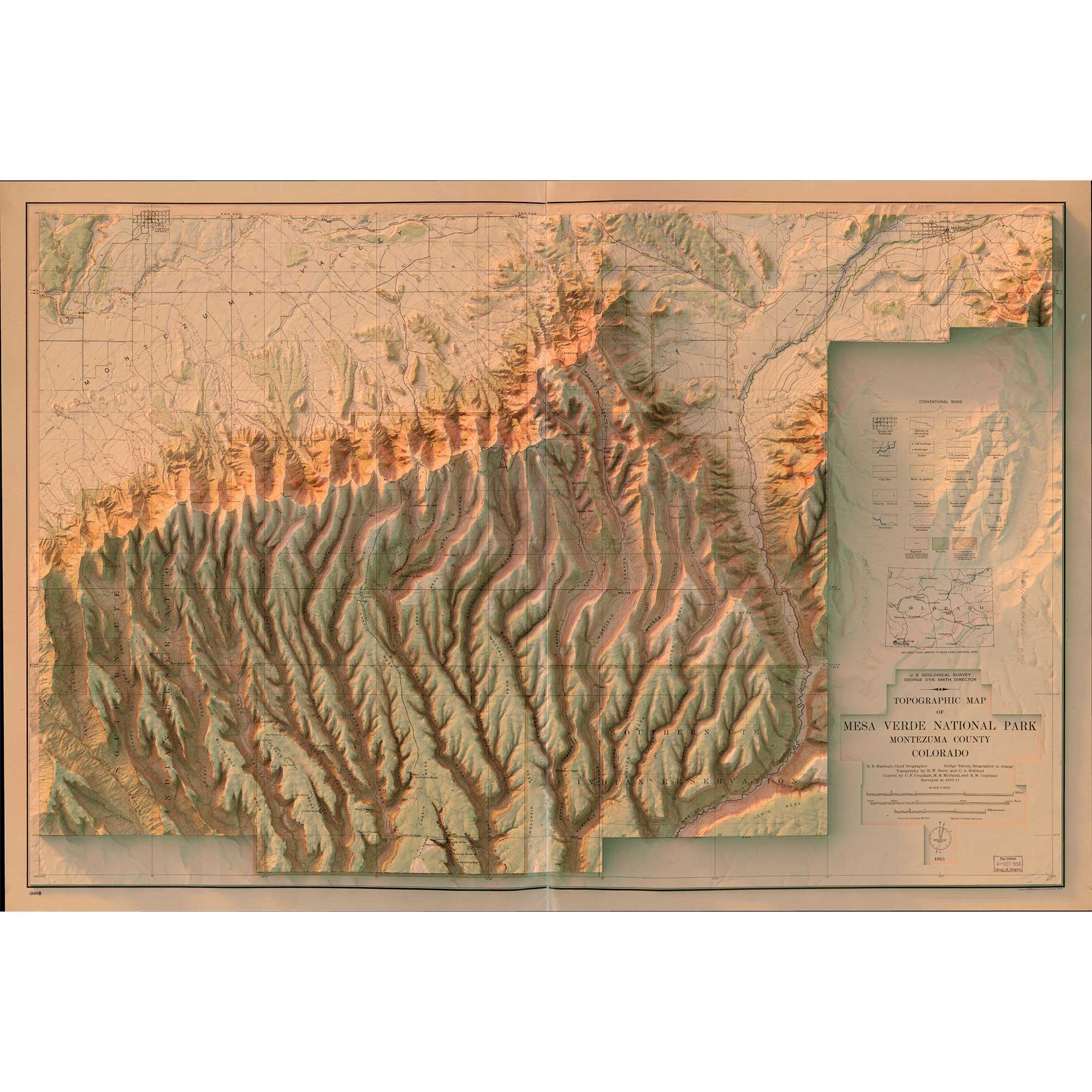 Mesa Verde National Park — Scott Reinhard Maps