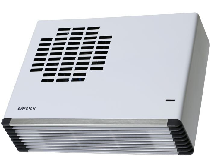 Wall Mounted Bathroom Fan Heater White Gloss Fh24wh Weiss
