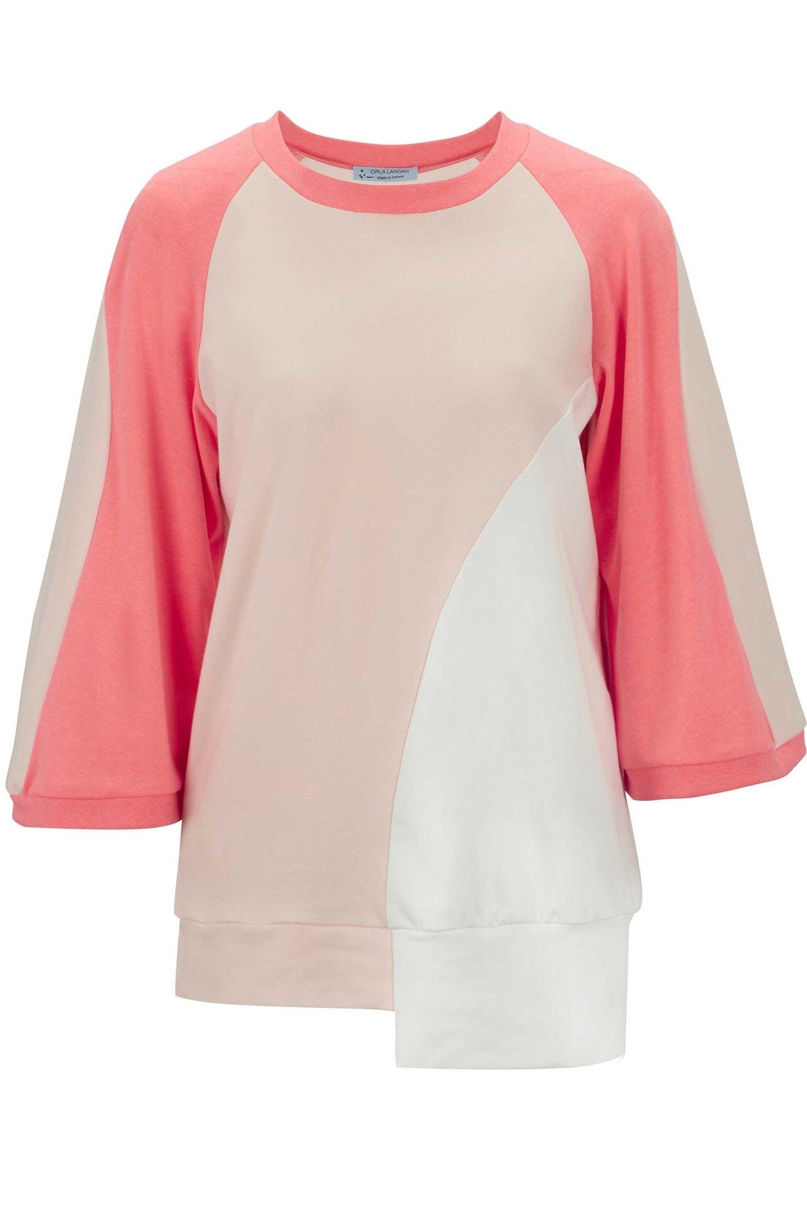 0c29f69bce Off-set panelled long jersey sweater — Orla Langan