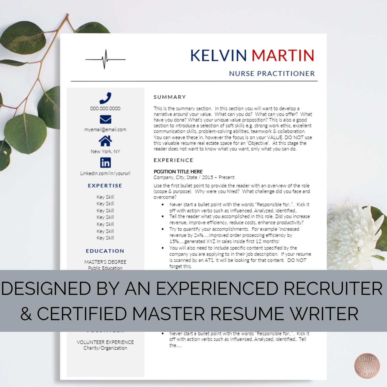 Nurse Resume Templates - New Jersey - by Ken Docherty, CMRW — Ken Docherty