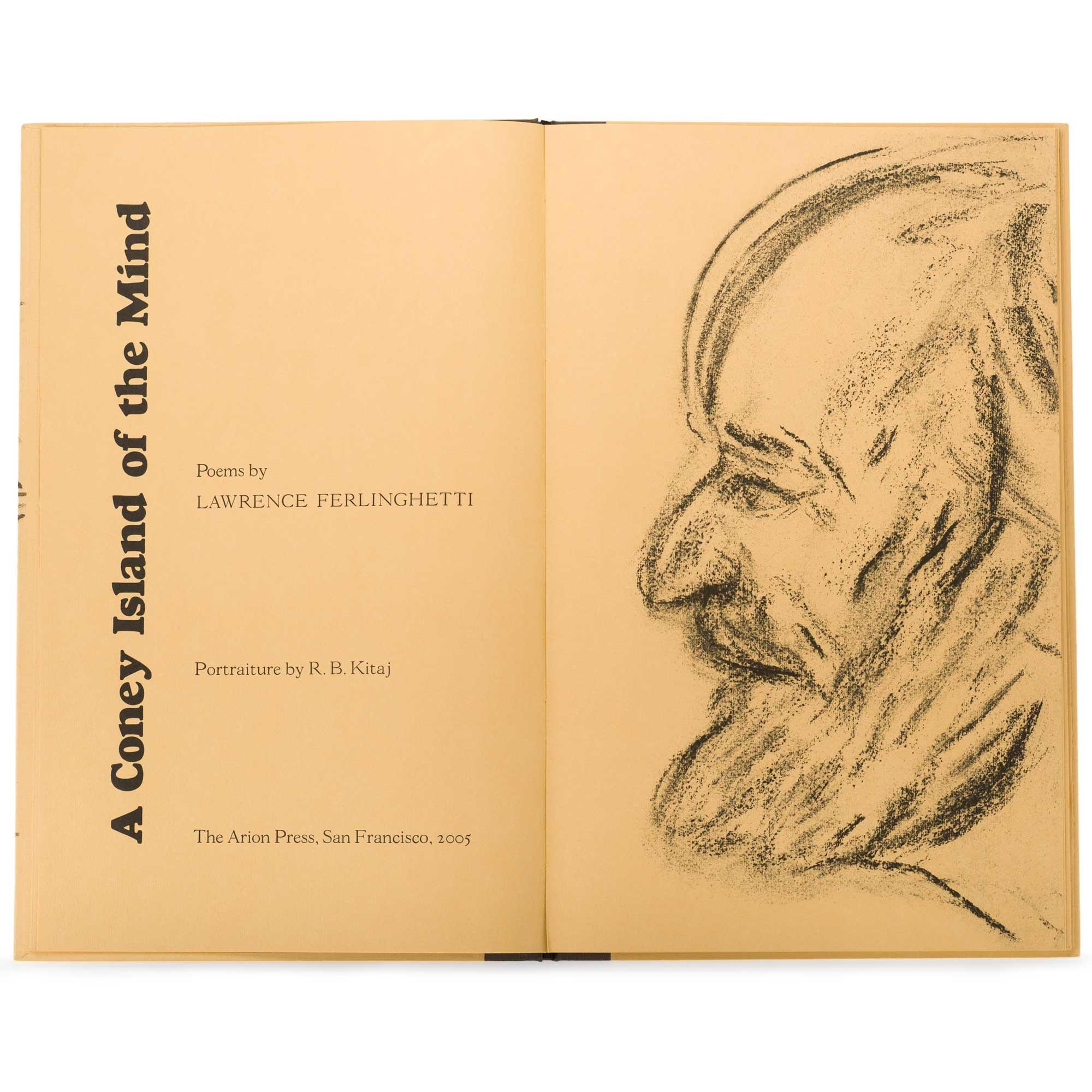 A Coney Island Of The Mind By Lawrence Ferlinghetti R B Kitaj Arion Press