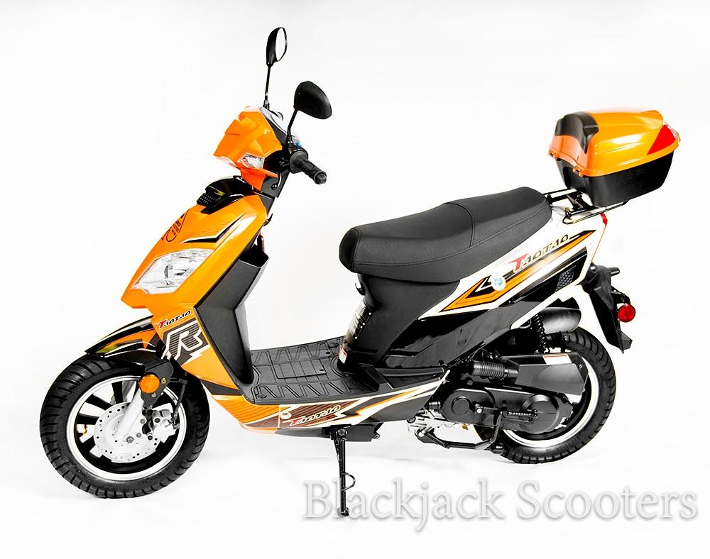 Taotao Thunder 49cc Street Legal - — Blackjack Mopeds & Scooters