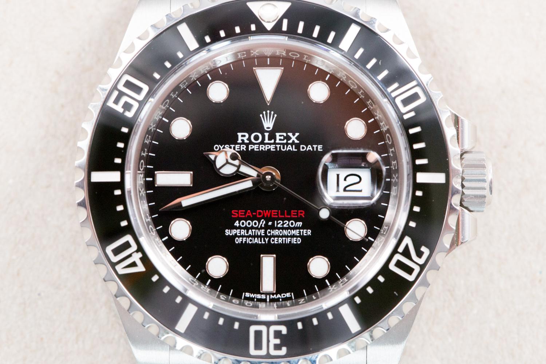 Rolex Sea Dweller Red 50th Anniversary 126600 Ceramic 4000 2018 Full Set Unworn O R O L O G I U M
