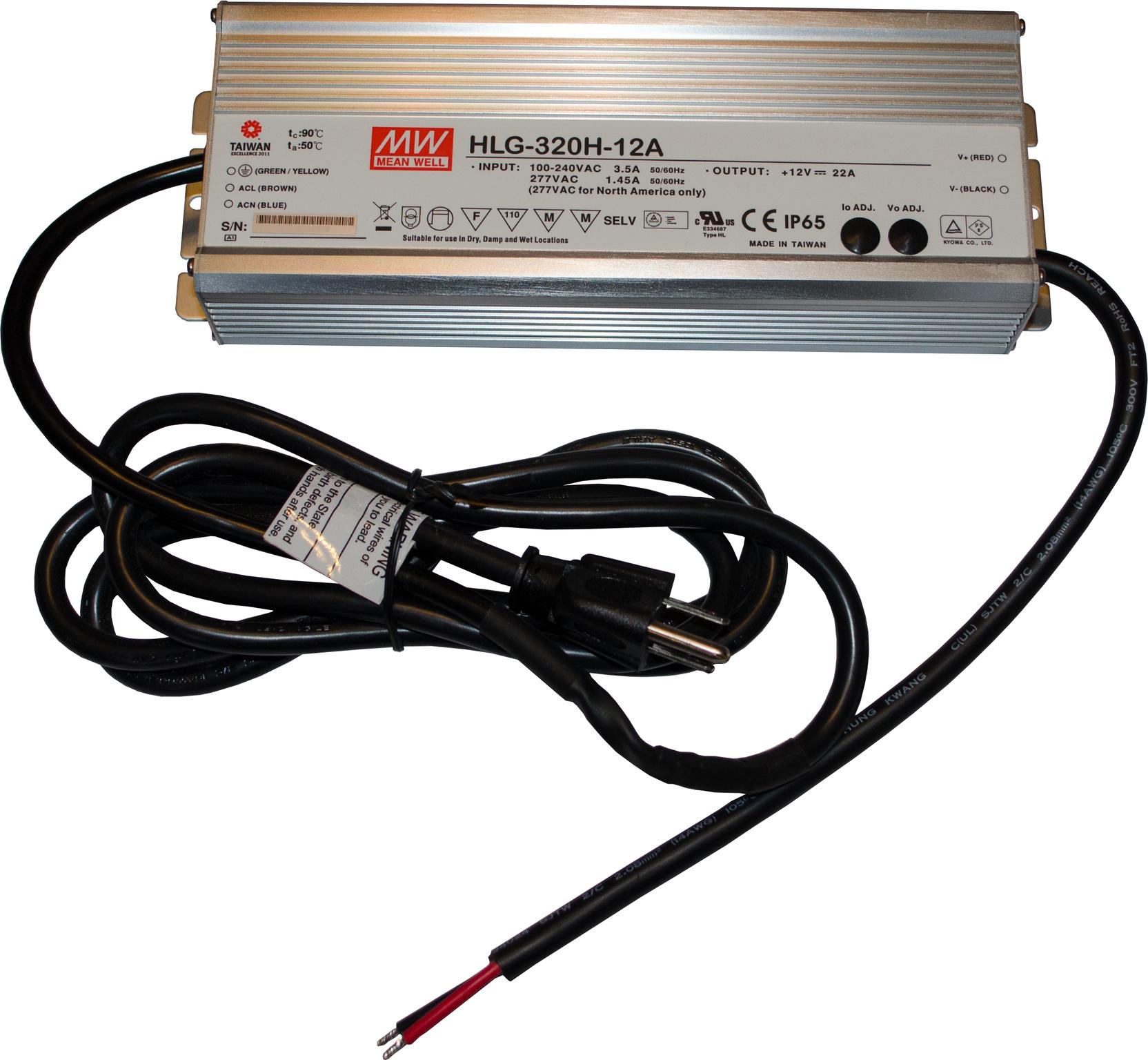 12 Volt / 22 Amp Outdoor Power Supply — Keen Designs Inc