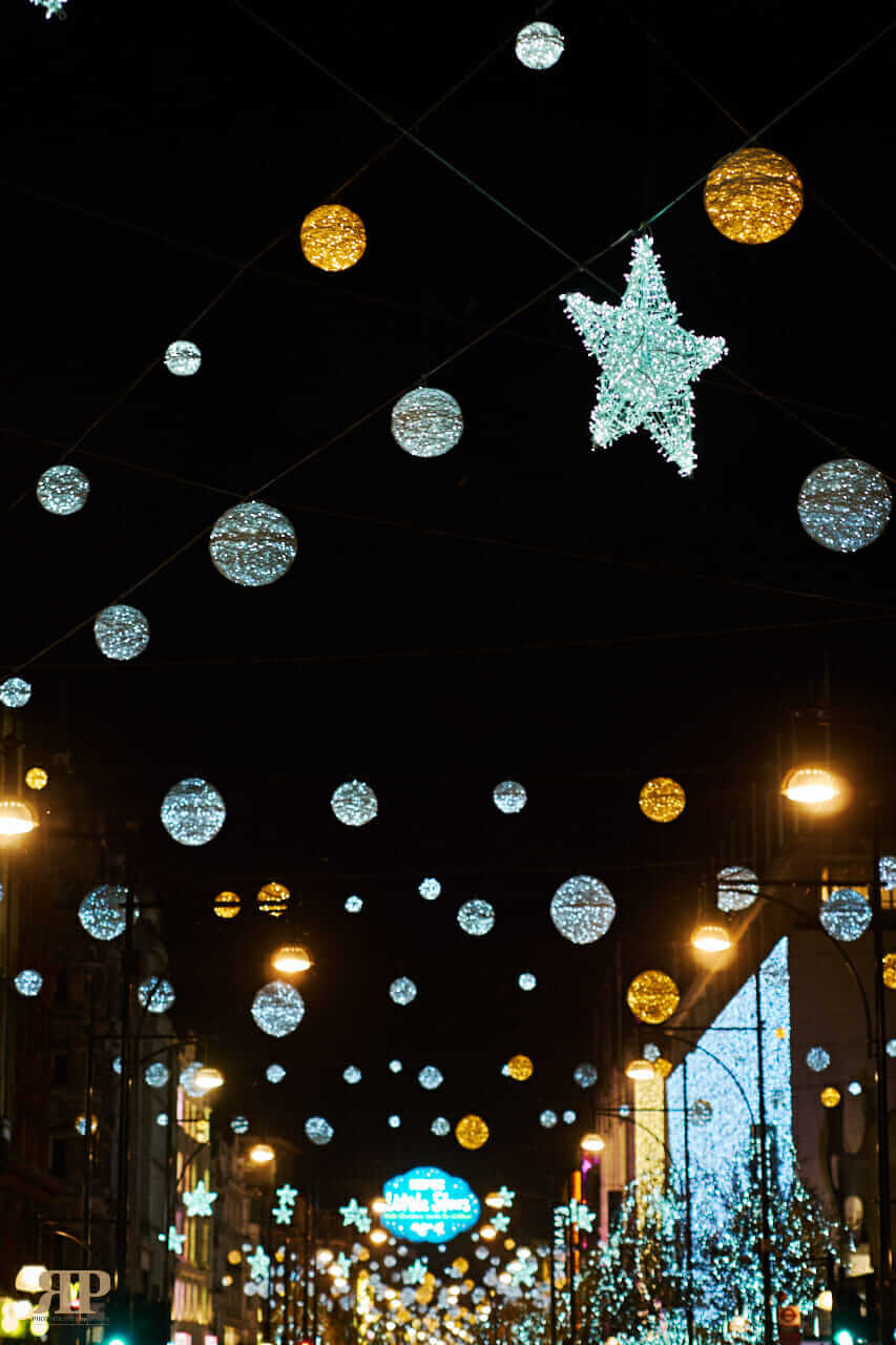 Christmas Lights.Exclusive London Christmas Lights Rp Photography By Design