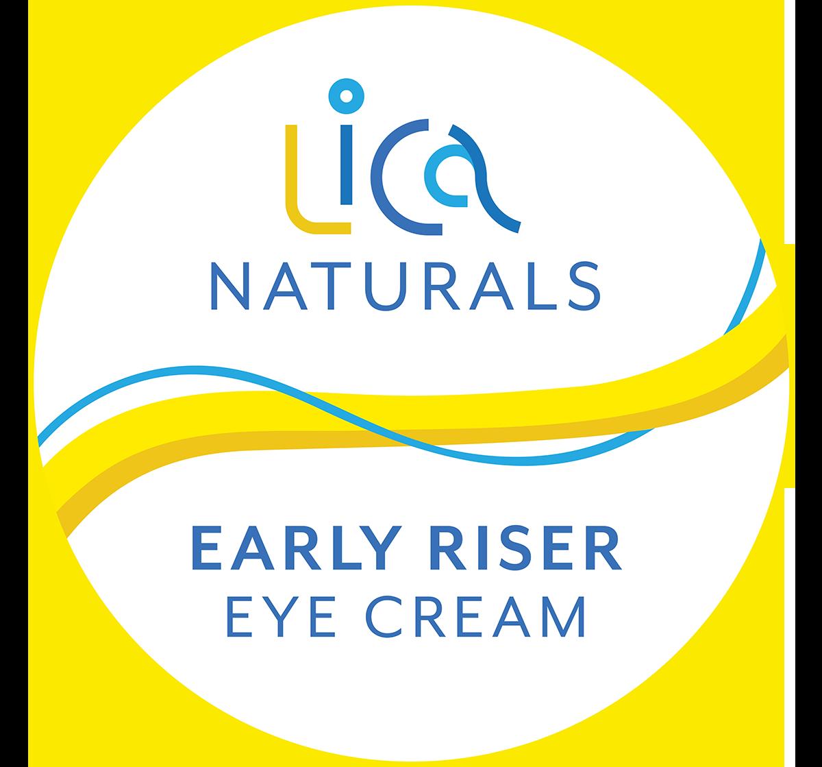 Early Riser >> Early Riser Eye Cream Lica Naturals