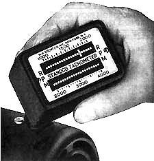 Vibrating Reed Tachometer—Type D-1 Dwarf — STICHT CO