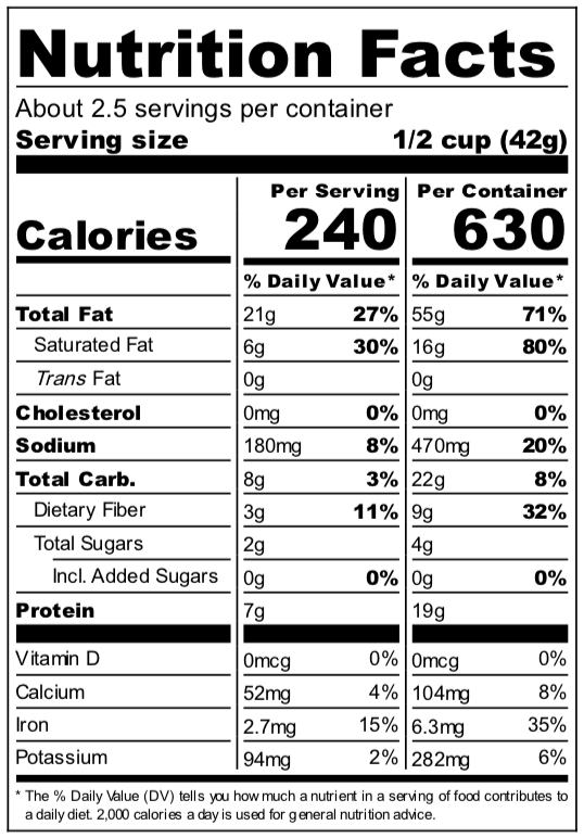 savoureux_snack_mix_nutrition_facts.png