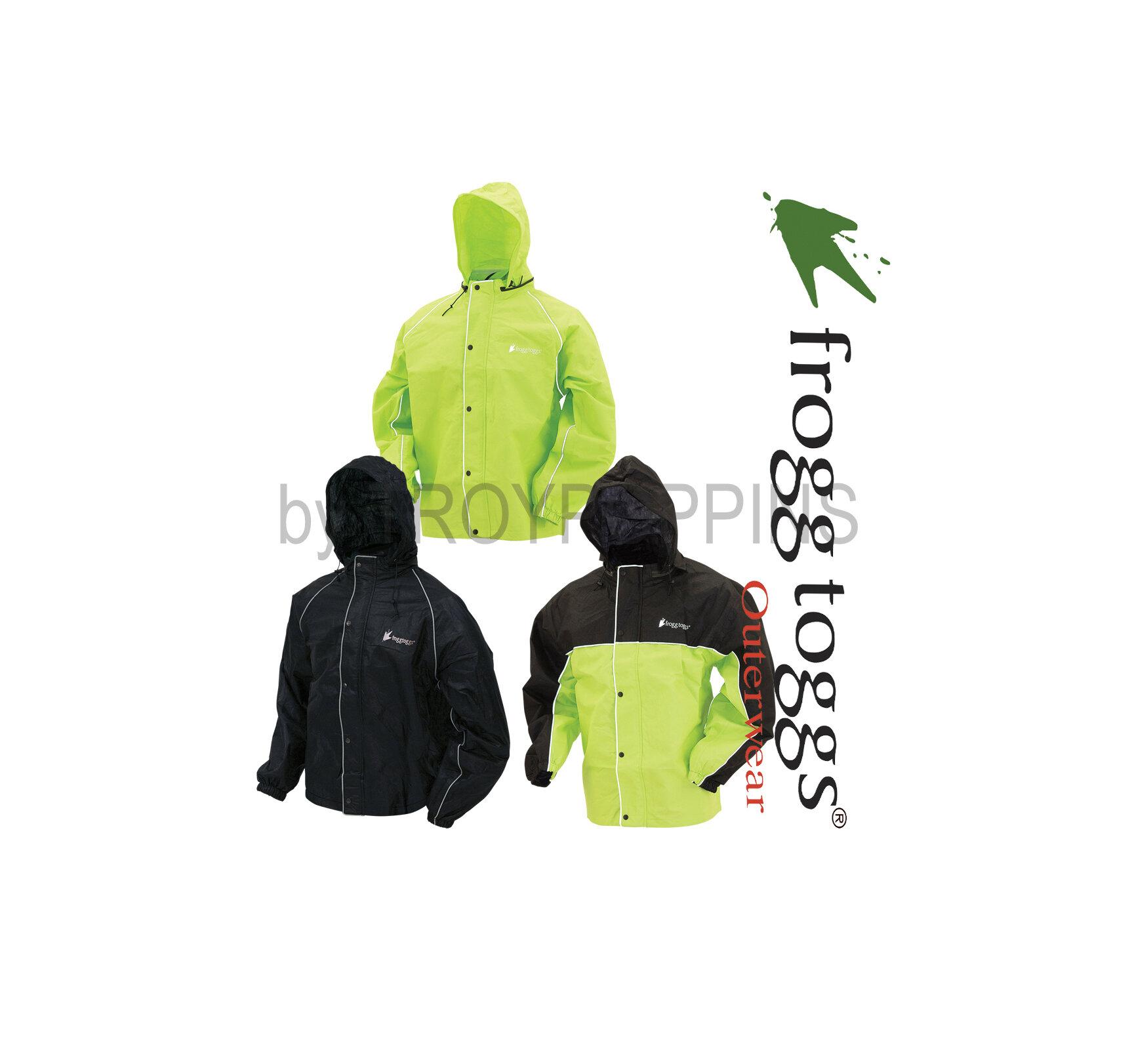 Lite Unisex Dark Green Rain Poncho Frogg Toggs Ultra