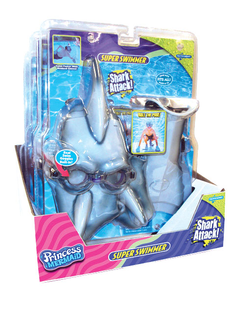 Super Swimmer Swim Toys - A legacy toy from Big Time Toys brings role playto our line of pool toys. Rule The Pool™!