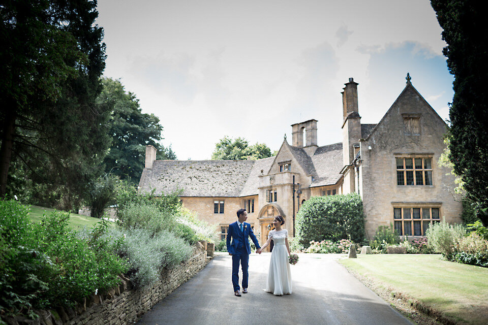 Luxury wedding planned by完美计划 at 福克斯希尔庄园, Cotswolds