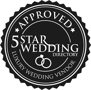 Approved Luxury 婚礼vendor on the 5 Start 婚礼Directory
