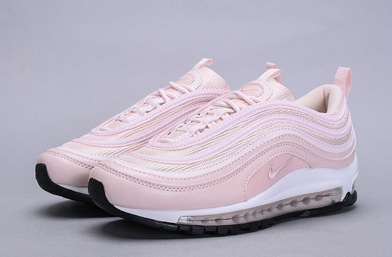 Women Nike Air Max 97 Light Pink White Old Fashion Shoes