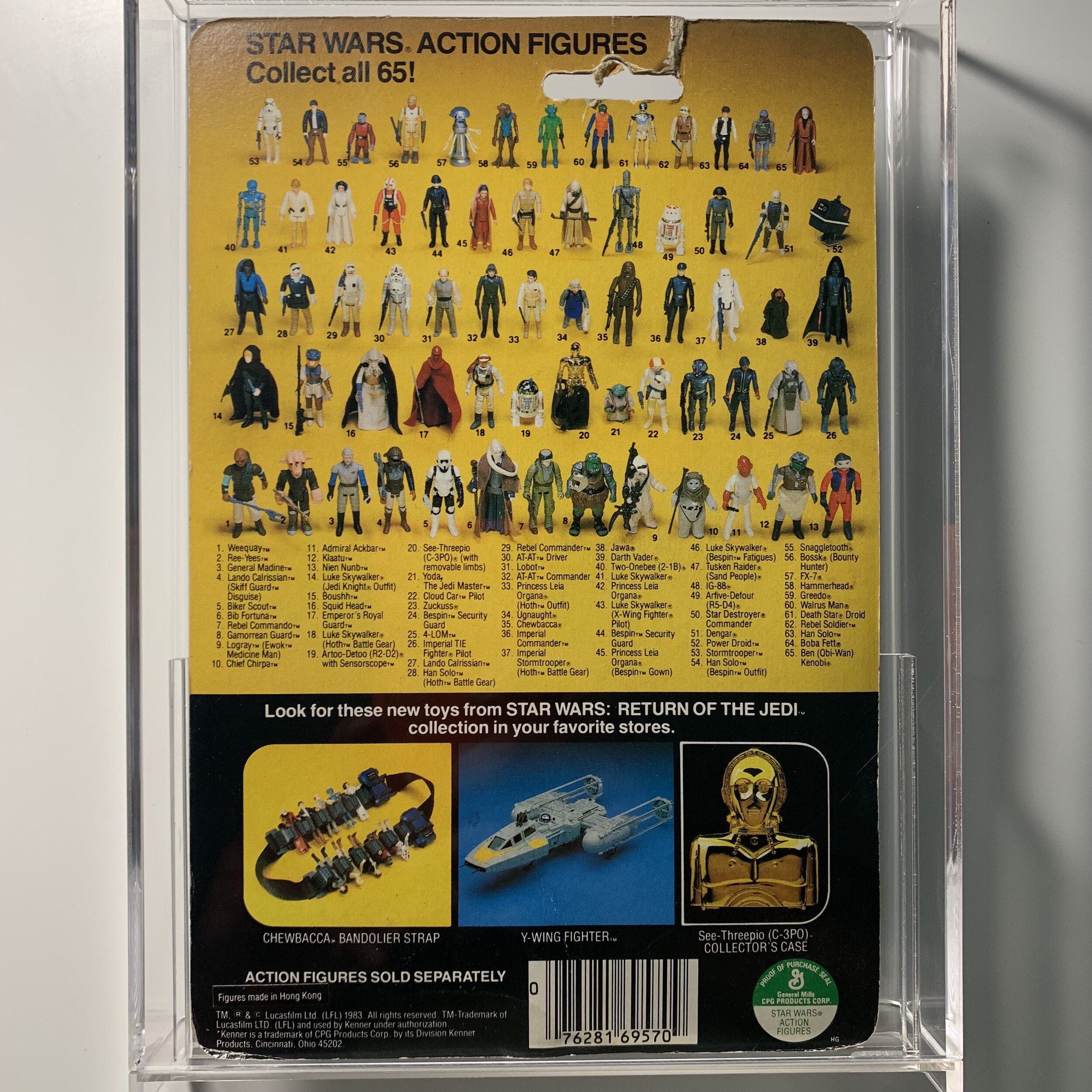 Bossk Bounty Hunter Moc Star Wars Action Figure Rotj Retro Gram