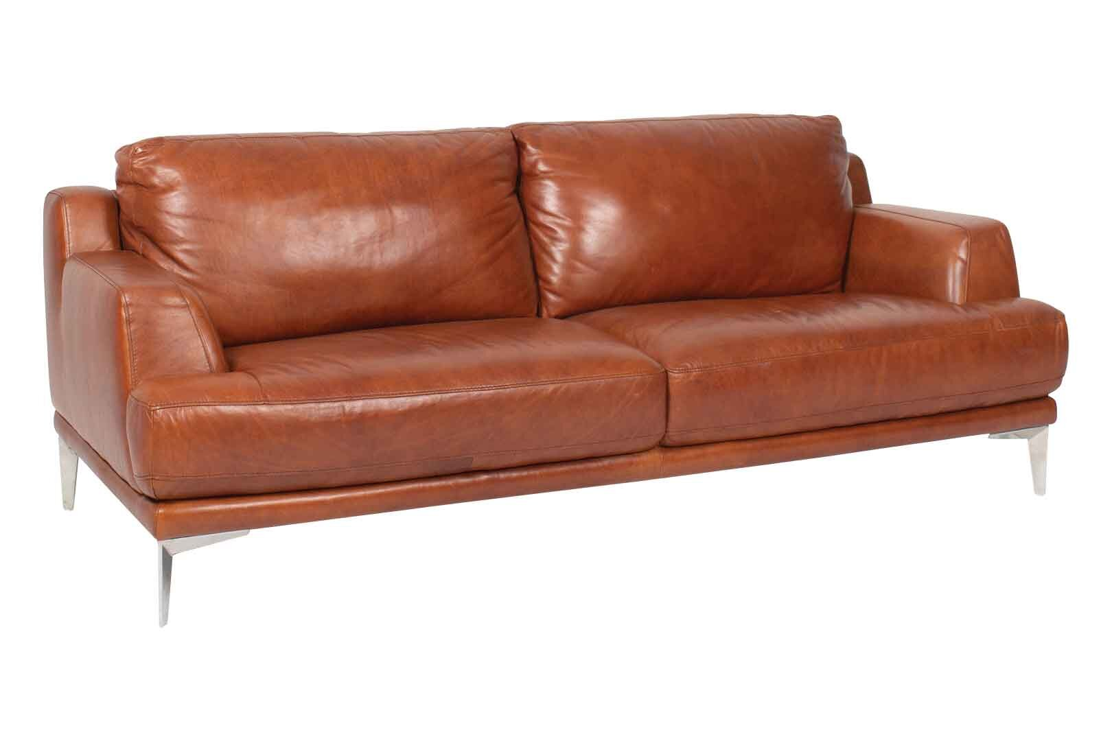 3 Seater Leather Sofa Fullhouse