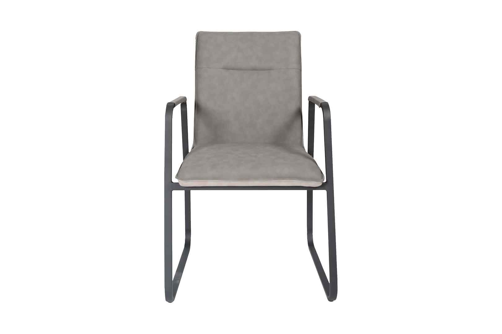 Grey Leather Dining Chair Fullhouse