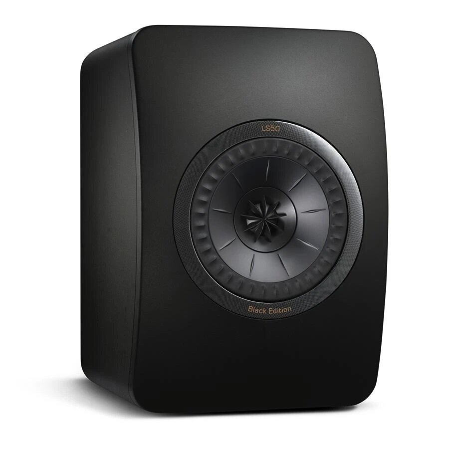 KEF LS50 Mini Monitor Pair Black Edition