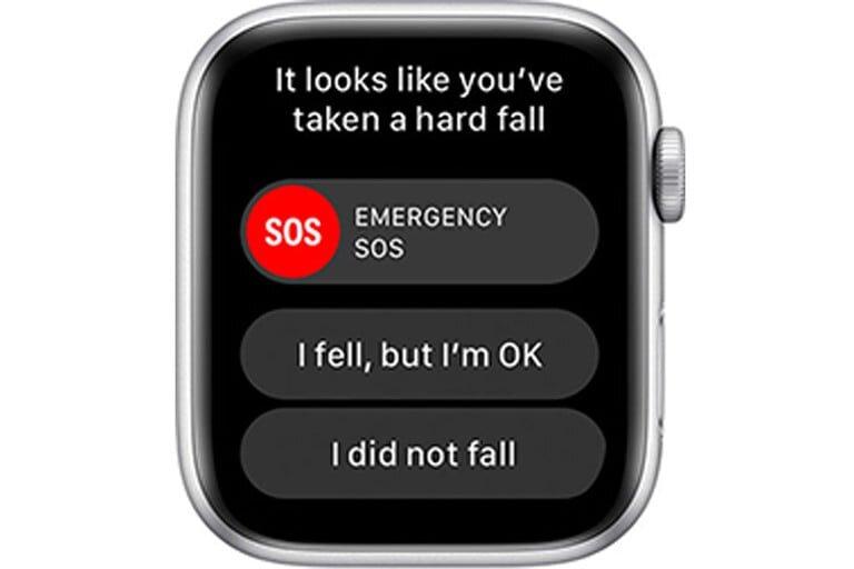 苹果手表跌落检测