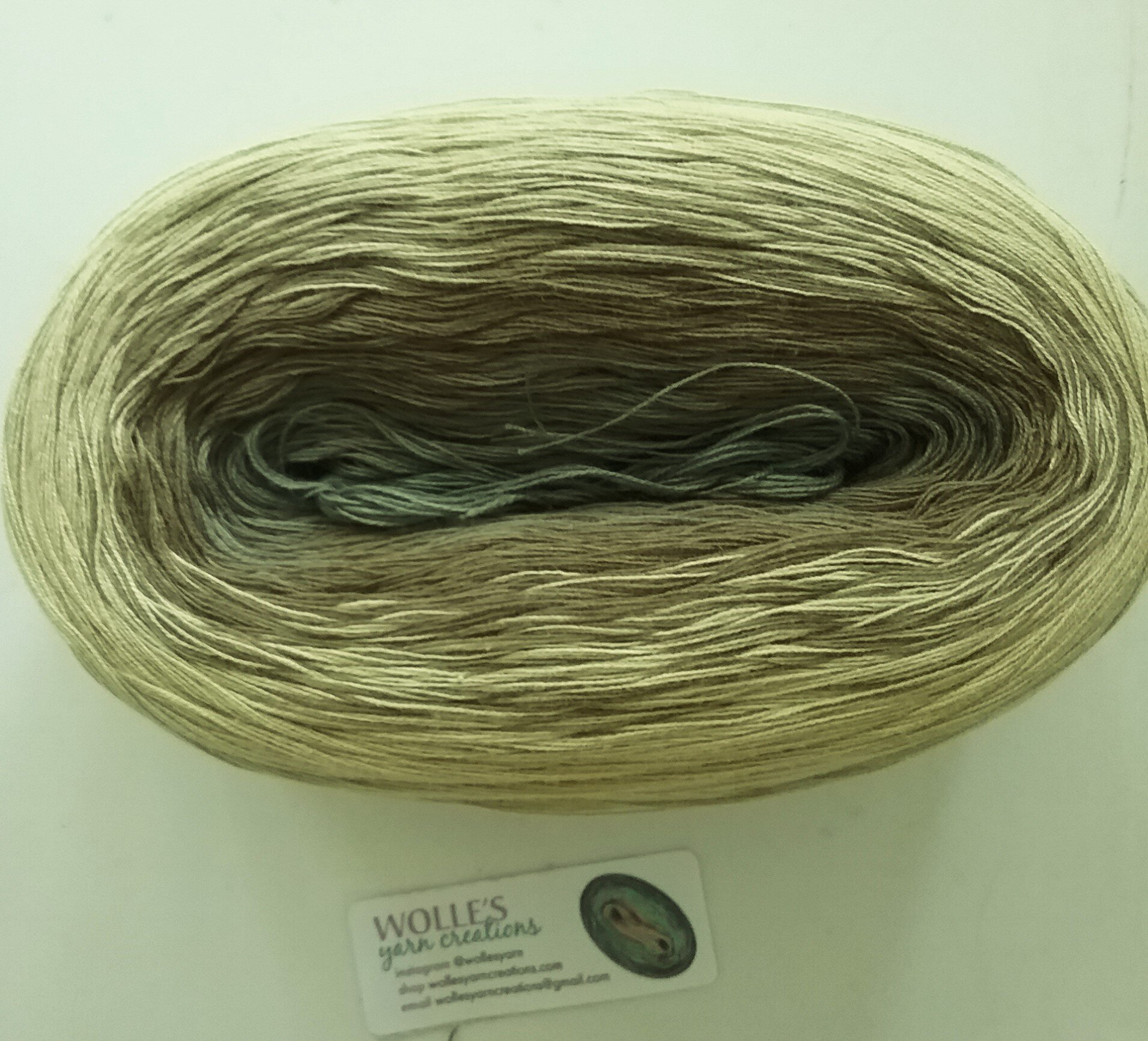 -mega- CHICORY MEDLEY II Color Changing Cotton yarn  865 yards180 gr  Fingering Weight