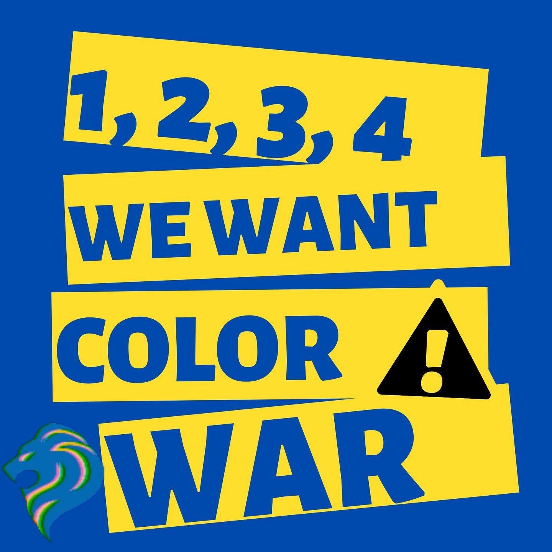 今年GMLS将举办AG娱乐的第一次颜色战争! 你是金色耶路撒冷队还是蓝色特拉维夫队? 继续关注更多独家新闻, 庆祝活动的校园录像, 在幕后🦁#sdja #colorwar