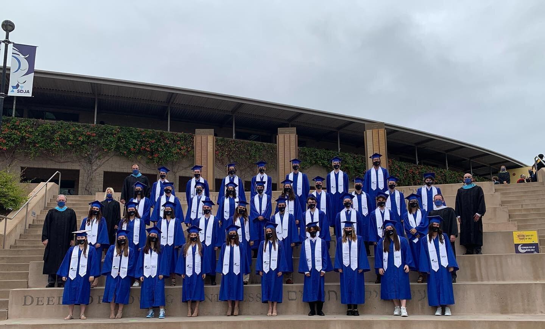 毕业的美好日子🎓#sdja #graduation #classof2021